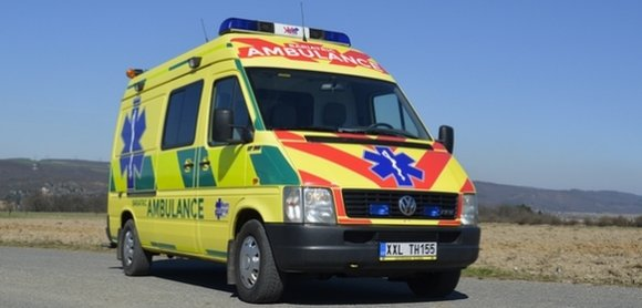 VW LT 35 Bariatric ambulance